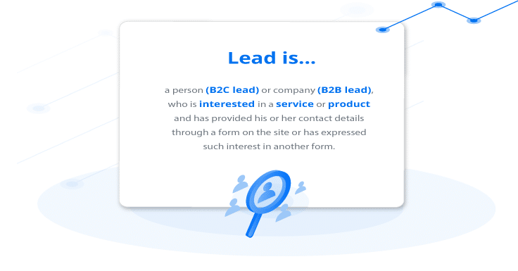What is a lead? Lead—potential customer