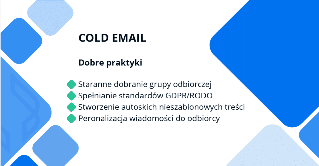 dobre praktyki w cold mailu