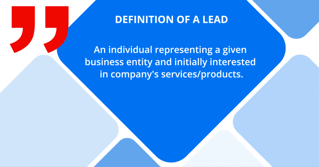 lead generation - what is a lead