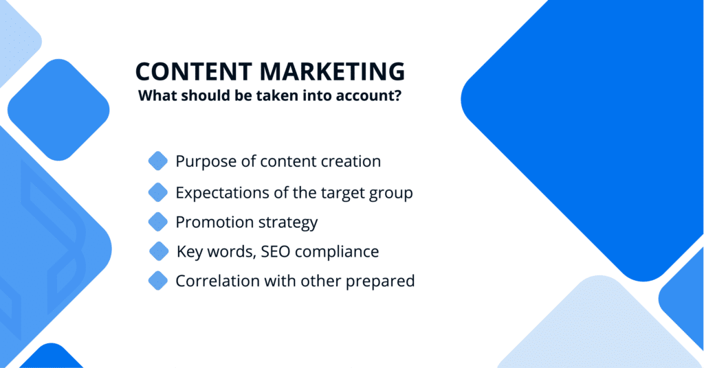 Content marketing - how to start