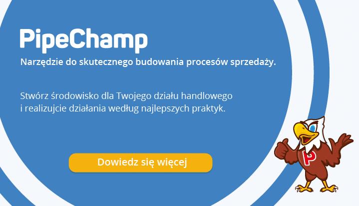 PipeChamp Platforma do tworzenia procesu sprzedaży